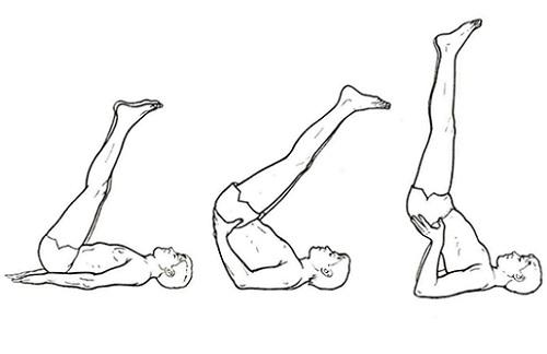 posturas de yoga para la prostata